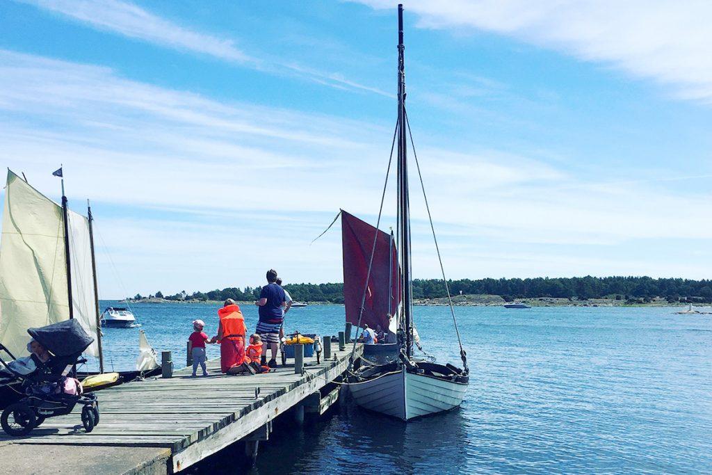 Nya Ekenäs Samfällighetsförening, segling